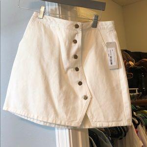 Dresses & Skirts - Button Denim Skirt